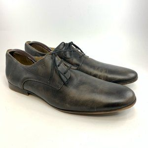 Bed Stü Black leather Oxford size 13